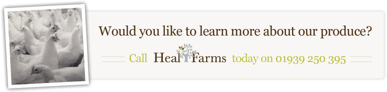 Contact Heal Farms on 01939 250 395